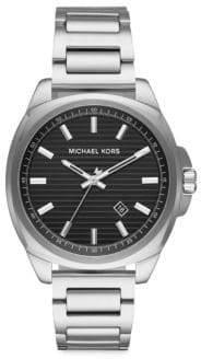 Michael Kors Bryson Three-Hand Stainless Steel Watch