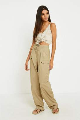 Urban Renewal Vintage Surplus Drawstring Waist Cargo Trousers