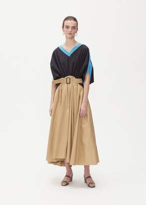 J.W.Anderson A-Line Belted Maxi Dress