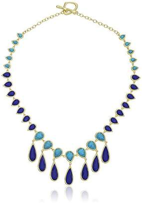 Karen Kane Sky and Sea Teardrop Statement Collar Necklace
