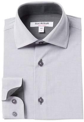 Isaac Mizrahi Micro-Gingham Dress Shirt (Toddler, Little Boys, & Big Girls)