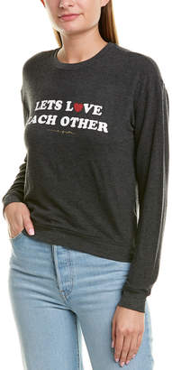 Spiritual Gangster Lets Love Graphic Sweater