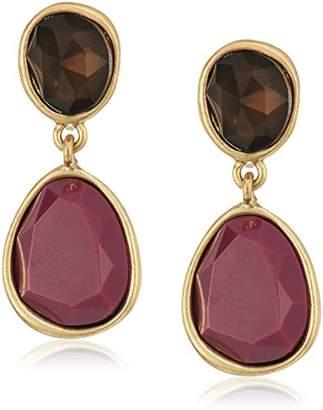 The Sak Double Stone Clip-On Earrings