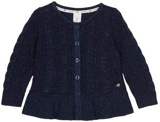 fd548feccd75 Girls Cable Knit Cardigan - ShopStyle UK