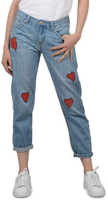 Molly Bracken Heart Cotton Jeans