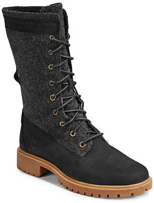 Timberland Round-Toe Leather Tall Boots