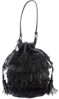 Loeffler Randall Fringe Bucket Bag