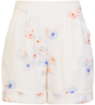 Sophie Cameron Davies Beach Flower Tailored Short