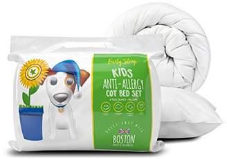 Boston Duvet & Pillow Co Anti Allergy Safer Sleep Cot Bed Set