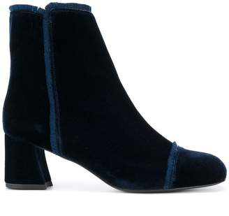 Stuart Weitzman velvet boots