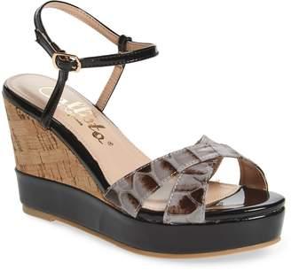 Callisto Lottie Platform Wedge Sandal