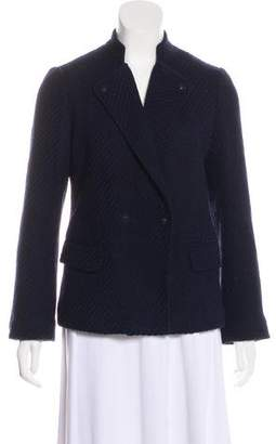 Vince Wool-Blend Double-Breasted Blazer
