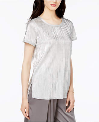 Bar Iii Textured Metallic Top, Only at Macy's $44.50 thestylecure.com