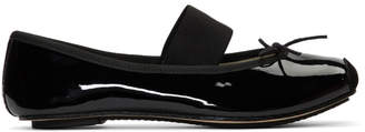 Repetto Black Patent Catherine Ballerina Flats