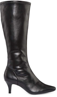 East Fifth East 5th Womens Navassa Wide Calf Dress Boots