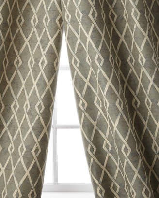 "Sweet Dreams Argyle Curtain, 108""L"