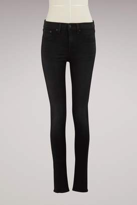 Rag & Bone High-Rise Skinny Jeans