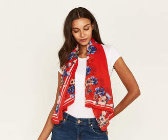 Oasis FLORAL SQUARE SCARF
