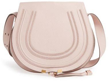 Chloé 'Marcie - Medium' Leather Crossbody Bag - White