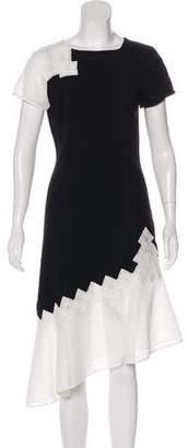 Jonathan Simkhai Embroidered Asymmetrical Dress