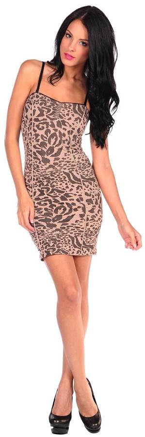 Free People Animal Seamless Slip Dress
