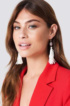 Tranloev One Stone Tassel Earring