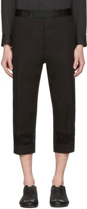 Haider Ackermann Black Tuxedo Trousers $900 thestylecure.com