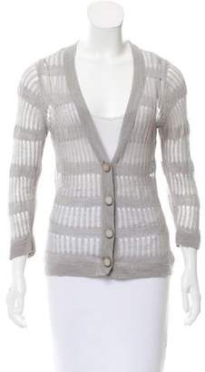Tracy Reese Long Sleeve Knit Cardigan