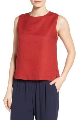 Women's Eileen Fisher Linen Shell $138 thestylecure.com