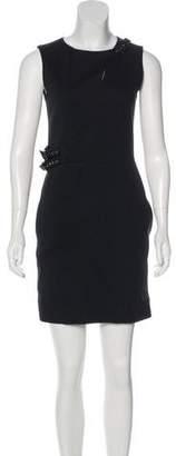 Thomas Wylde Sleeveless Mini Dress