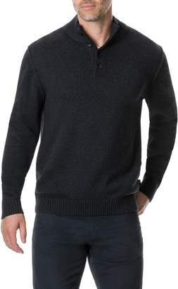 Rodd & Gunn Kent Terrace Quarter Button Sweater