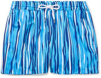 Frescobol Carioca Açu Slim-Fit Short-Length Printed Swim Shorts