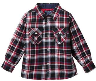 Andy & Evan Plaid Quilted Button Down Shirt (Little Boys)