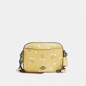 Coach New YorkCoach Camera Bag With Floral Bow Print