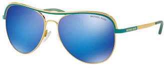 Michael Kors 0MK1012 Mirror Lens 58mm Aviators