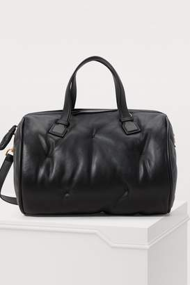 Anya Hindmarch Chubby Barrel leather shoulder bag