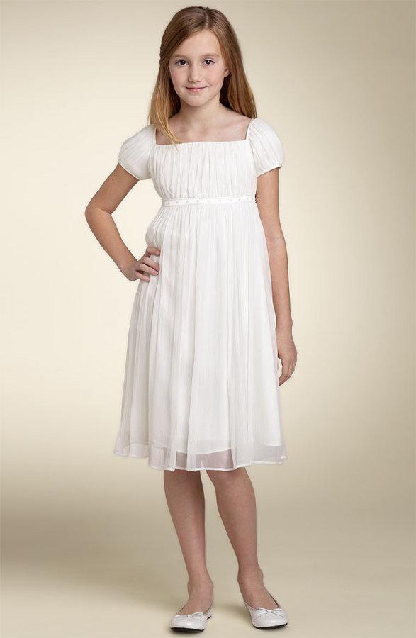 Us Angels Crinkle Chiffon Dress (Little Girls & Big Girls)