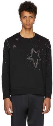 Valentino Black Star Stud Sweatshirt
