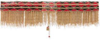 Rosantica Dakota Gold-tone Beaded Belt