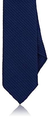Drakes Drake's Men's Wool-Silk Seersucker Necktie