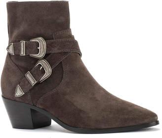 Frye Ellen Buckle Short Boot