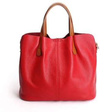 Merrysale Genuine Leather Crossbody Handbags Shoulder Purse Tote for Women