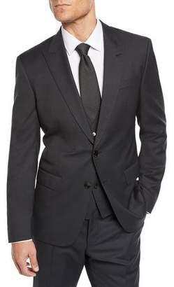 BOSS Men's Nailhead Three-Piece Suit