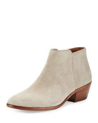 Sam Edelman Petty Suede Ankle Boot, Putty $140 thestylecure.com