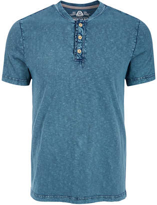 American Rag Men Heathered Henley