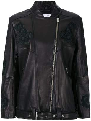 IRO embroidered floral jacket