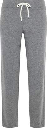 Monrow Melange Cashmere-blend Track Pants