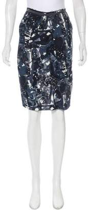 Marni Pattern Mini Skirt