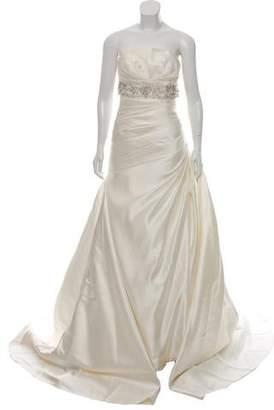 Pronovias Satin Wedding Gown