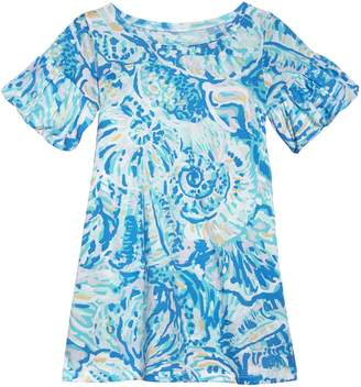 Lilly Pulitzer R) Mini Lindell Ruffle Dress